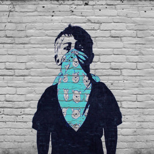 VANDAL★ Art: Boy / Mask Graffiti