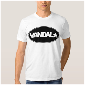 VANDAL★ Classic Black Logo